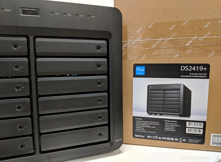 Synology Ds2419 +: a 12-bay Nas for Pros