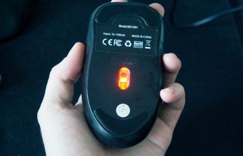 Is optical Mouse contain the wireless sensors or not? July 2020